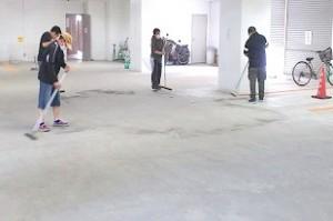 Hビル清掃